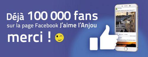 100 000 fans Facebook Jaime lAnjou